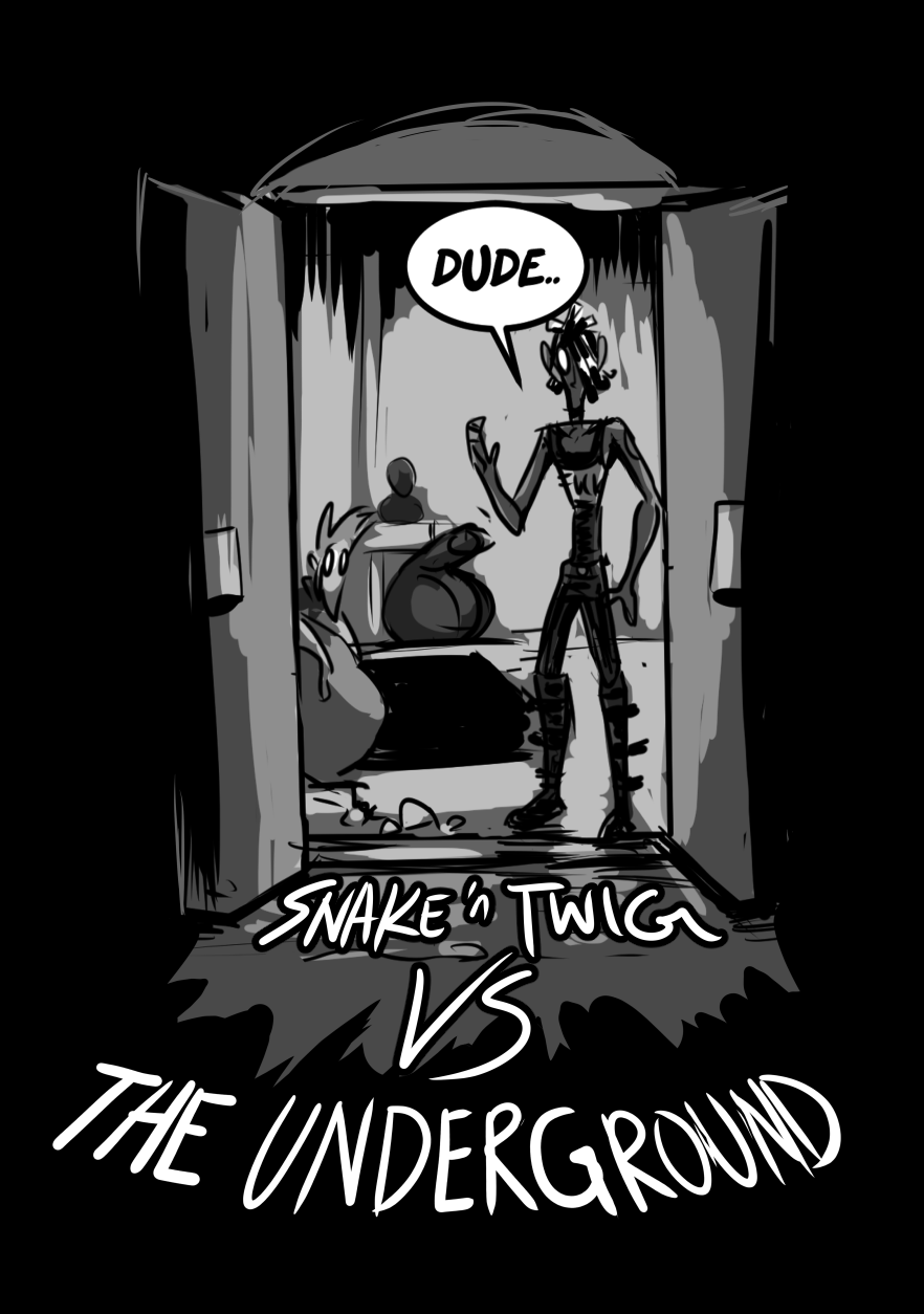 Snake n Twig VS The Underground cover